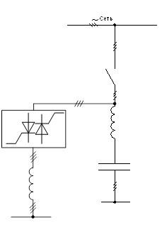 Схема включения статического компенсатора