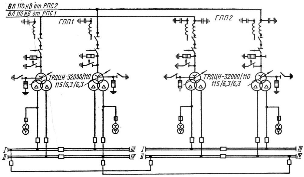 Система электроснабжения вариант3