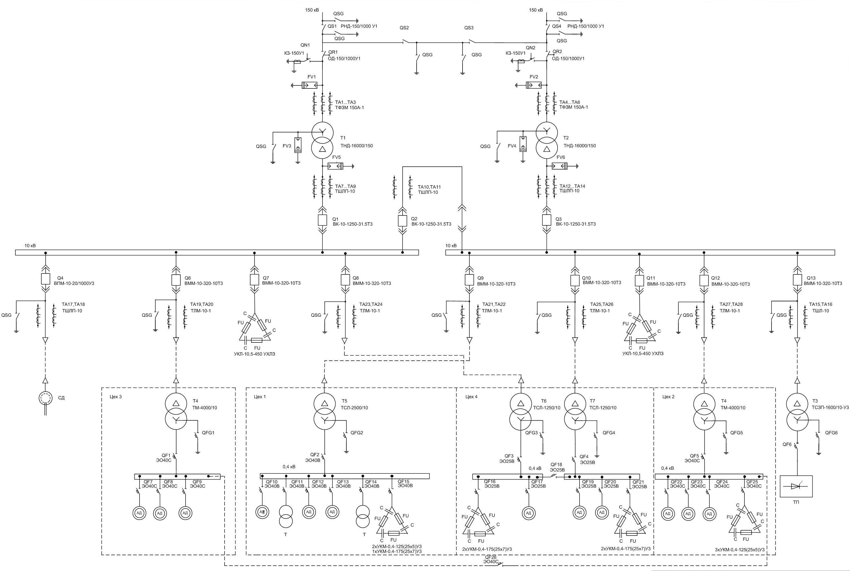 Sxema-elektrosnabgenia