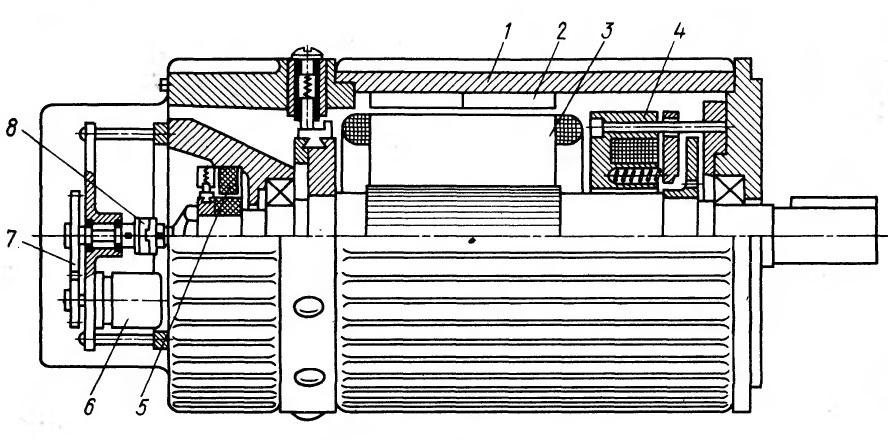 Высокомоментный двигатель постоянного тока