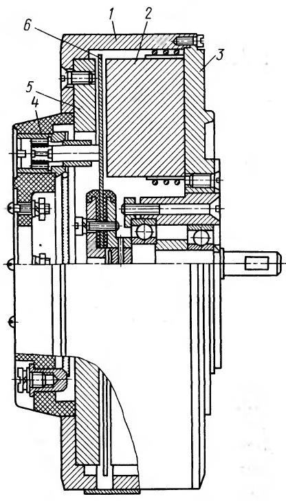Малоинерционный торцевой двигатель постоянного тока