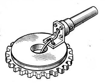 Рис. 4. Магнитное захватное устройство с постоянными магнитами