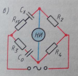 Мостовой метод измерения емкости