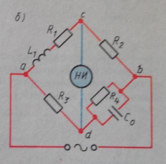 Мостовой метод измерения индуктивности