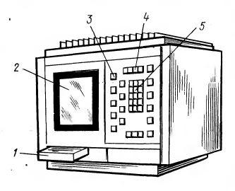 Общий вид дисплейного блока УЧПУ «Электроника НЦ-80»