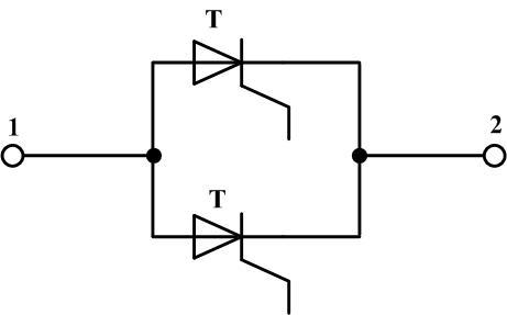 Параллельное включение тиристоров