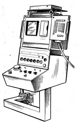 Рис. 1. Общий вид пульта пристроенной конструкции