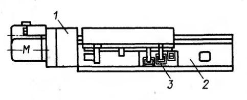 Рис. 2. Электромеханический силовой стол