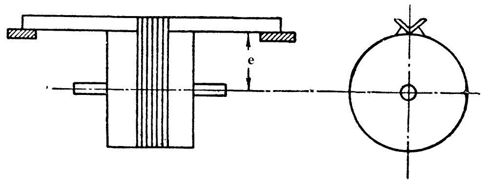 Определение момента инерции ротора методом качания