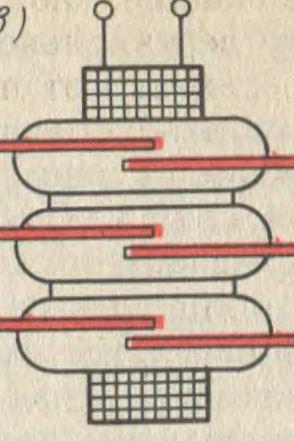 Герконовое реле с несколькими контактами