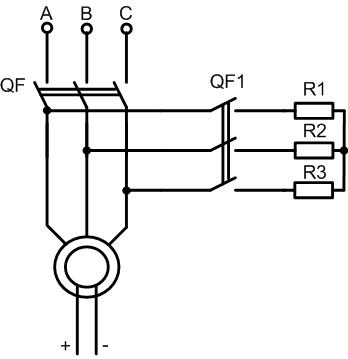 Динамическое торможение синхронного электродвигателя