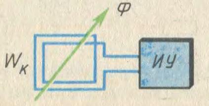 Схема веберметра