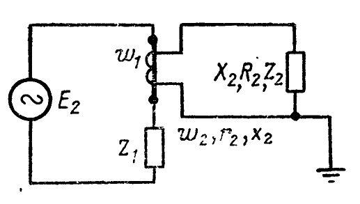 Схема включения трансформатора тока