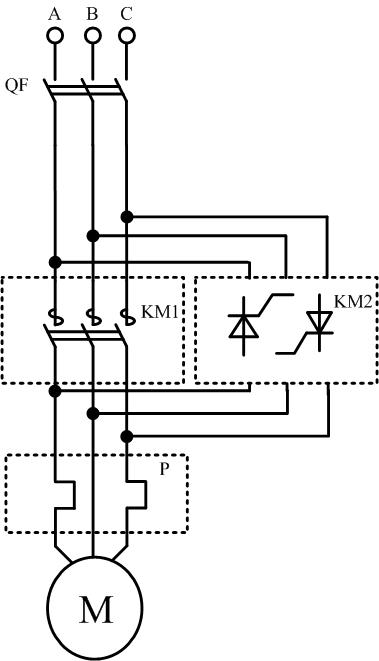 Схема гибридного выключателя