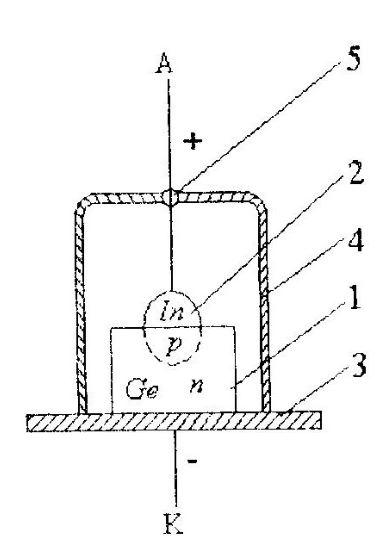 Схема диода в корпусе