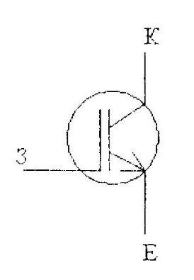 Обозначение IGBT транзистора на схеме