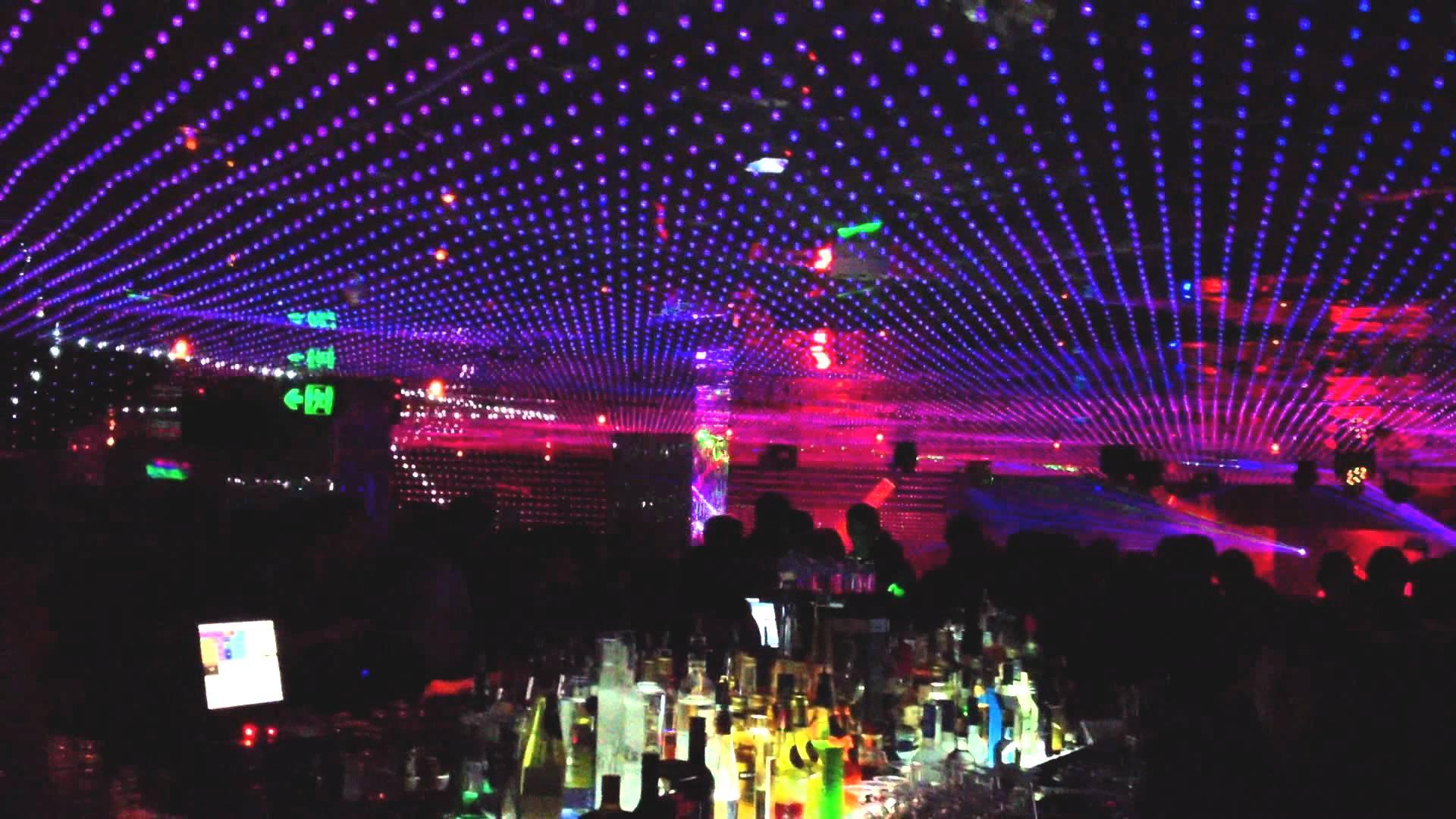 Светодиодные ленты в ночном клубе