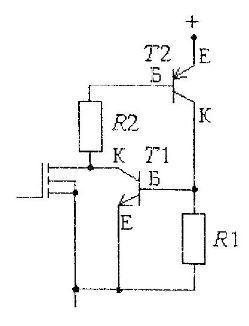 Схема работы IGBT транзистора