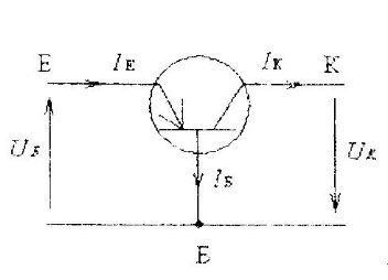 Схема соединения транзистора с общей базой
