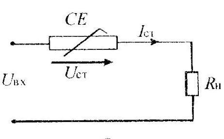 Схема стабилизации тока