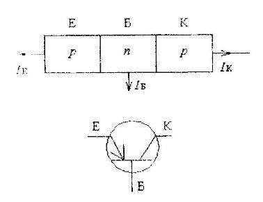 Схема транзистора с p-n-p переходом