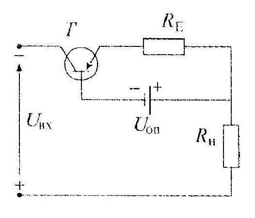 Схема компенсационного стабилизатора тока