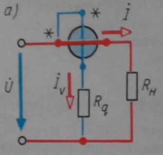 Схема подключения однофазного ваттметра