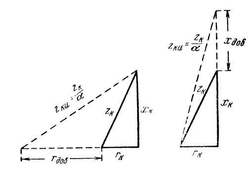 Расчетные формулы вытекают из фигур