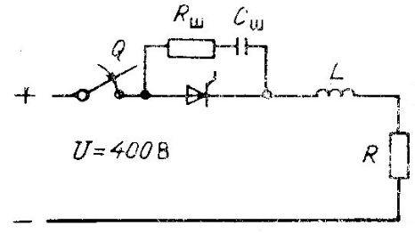 Схема работы тиристора