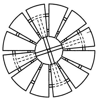 Конструкция ветряного колеса