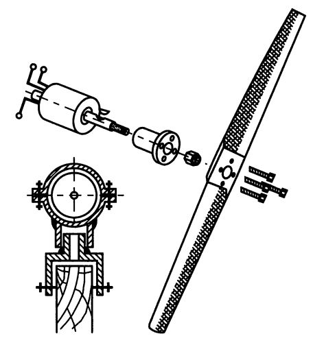 Конструкция пропеллера