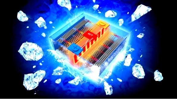 Автономный подогрев литий-ионных аккумуляторов