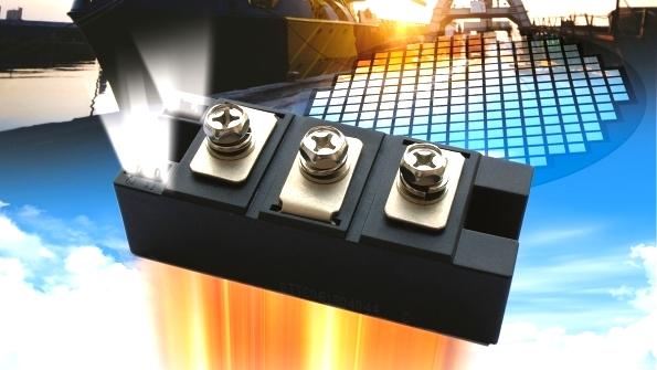 Силовые тиристорные и диодные модули напряжением от 600 В до 3,6 кВ