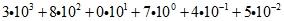 Поленом числа