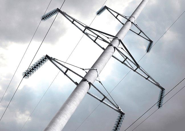 Железобетонные электроопоры