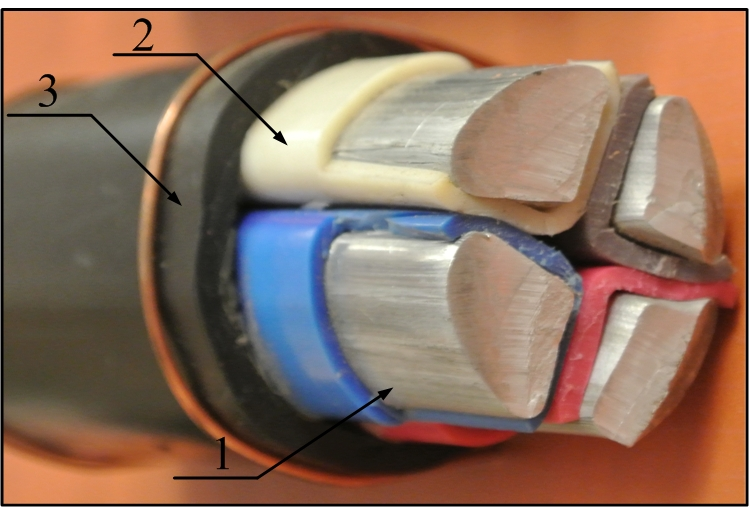 Устройство силового кабеля