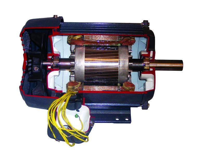 Асинхронный элекродвигатель. Его достионства и недостатки
