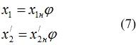 Индуктивное сопротивление обмоток приведенное к частоте 50 Гц