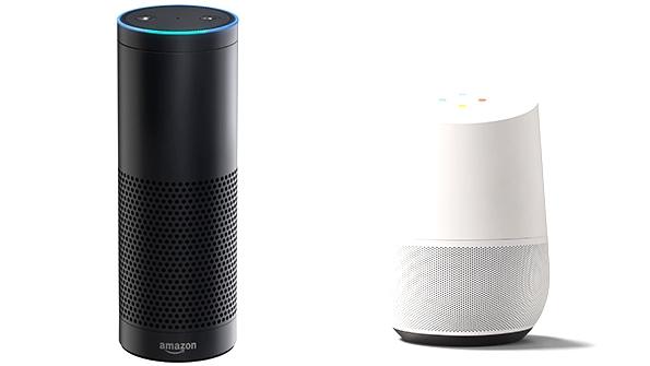 Системы голосового ввода от Amazon и Google