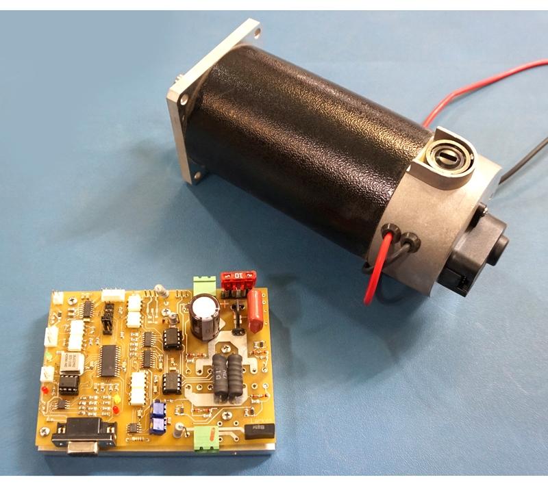 Цифровой перестраиваемый сервопривод с встроенным энкодером