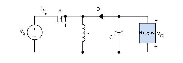 Конфигурация buck-boost для светодиодных драйверов