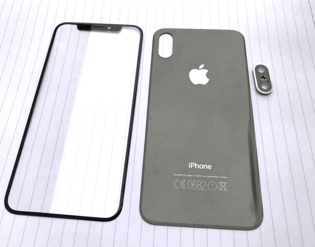 Стекляная задняя крышка Iphone 8