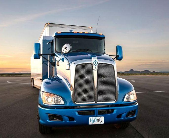 Водородные топливные элементы для грузовиков от Toyota