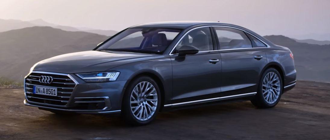 Новая Audi А8 с третьим уровнем автономности