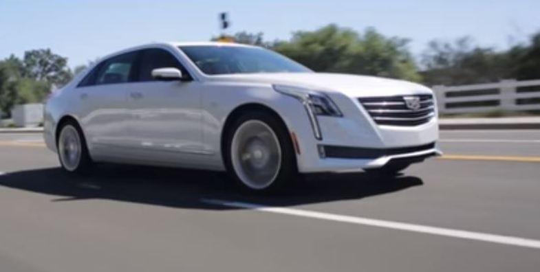 Новый Cadillac CT6 с системой автономного вождения