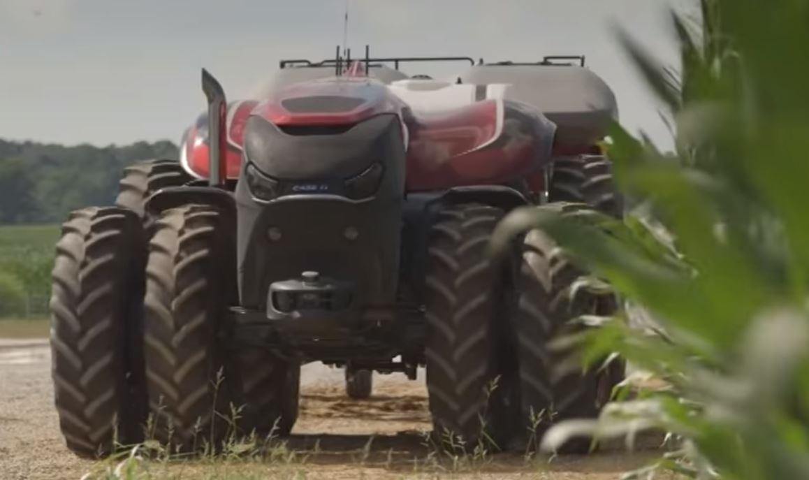 Автономный трактор от Case IH