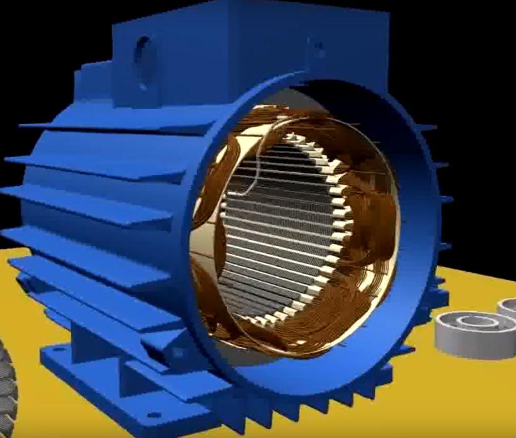 Асинхронные двигатели. Принцип действия и режимы работы