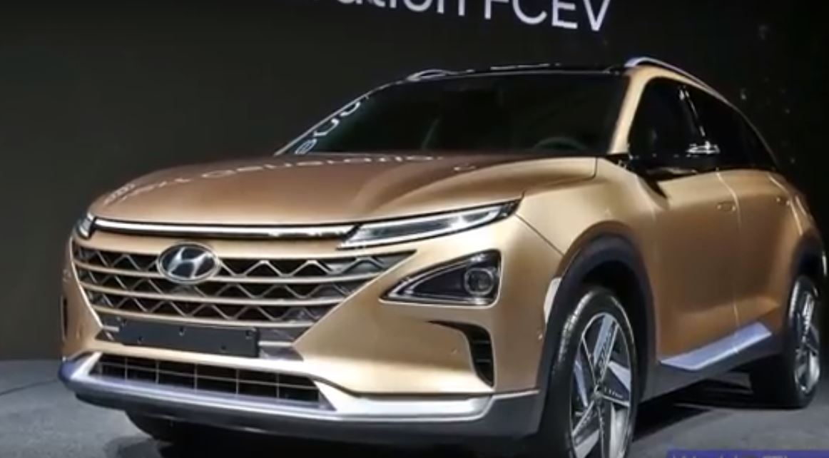 Hyundai представит новый внедорожник на водородном топливе в 2018 году