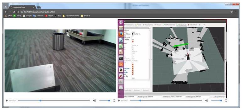 Создание карты статических объектов (препятствий) с помощью mmWave для реализации автономного движения роботов