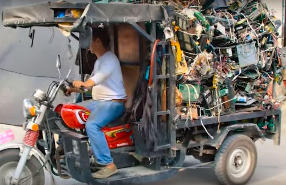 Бизнес по переботке электронных отходов